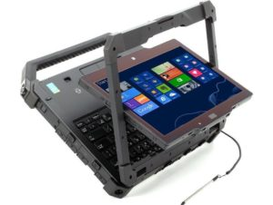 DELL Latitude 12 Rugged Extreme 7204 outdoor laptop test